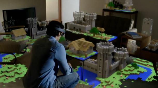 minecraft windows 10 hologram 3d