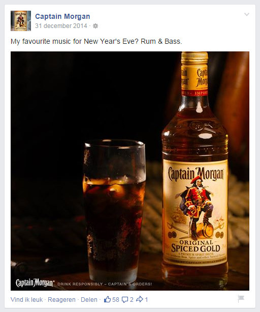 captain morgan facebook page
