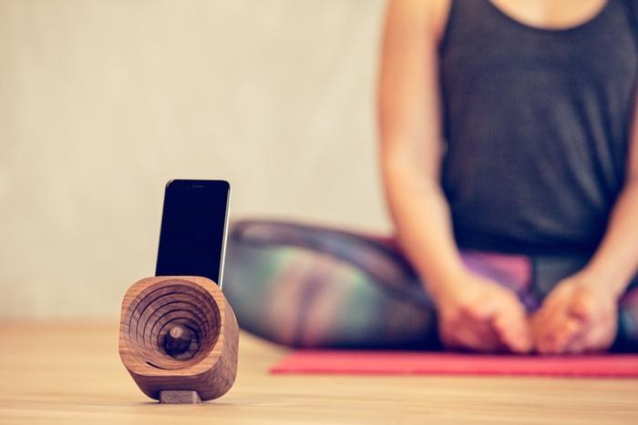 trobla houten speakers
