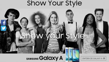 Samsung Galaxy doutzen kroes
