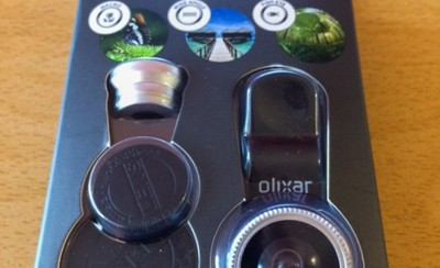 review olixar 3-in-1 camera clip lens