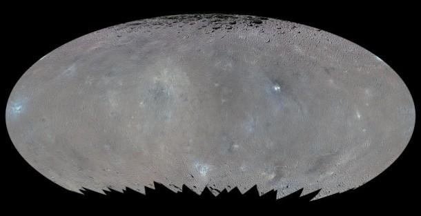 Dwergplaneet ceres foto nasa
