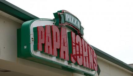 Flickr Papa John's logo