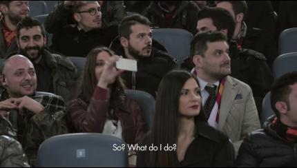 Schermafbeelding Simone Elleppi Heineken Viral Actie Champions League