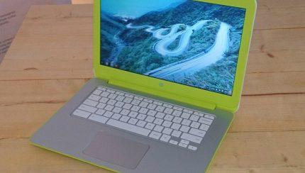 Chromebook foto bewerkt