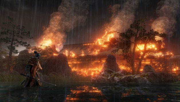 Sekiro fire